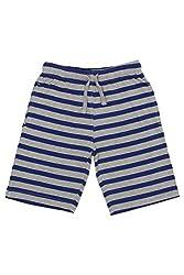 Chalk by Pantaloons Boy's Cotton Shorts (205000005605583, Grey, 4-5 Years)