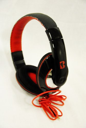 Iboost Hp-2006Bk Stereo Headphones Deep Bass Over-Ear For Iphone,Ipad,Iphone 3.5Mm Stereo