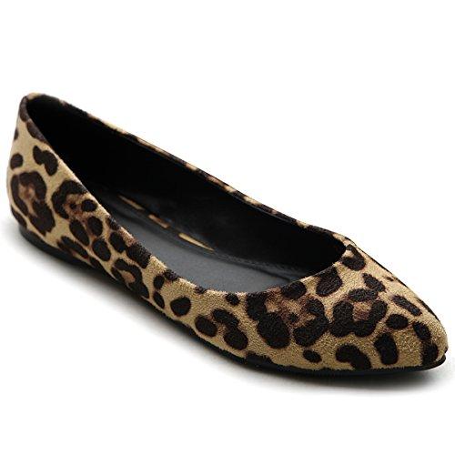 Leopard Print Ballet Flats
