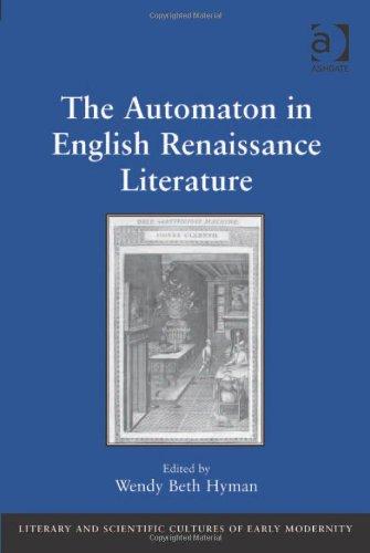 The Automaton in English Renaissance Literature