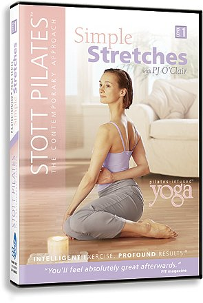 Best Price Stott Pilates Simple Stretches-Pilates-In  Yoga DVDB0000DHL1T