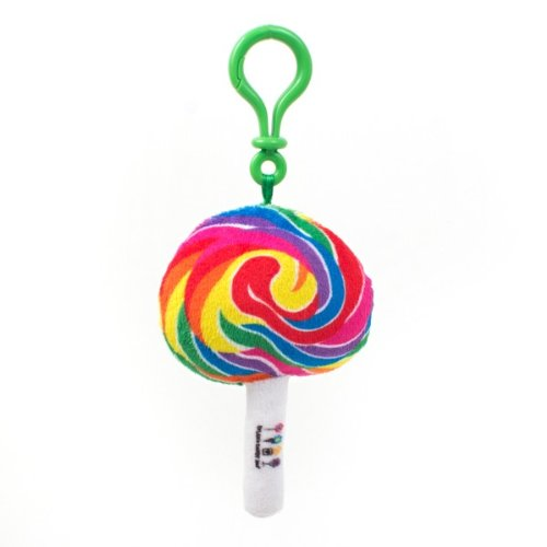 Dylan's Candy Bar Plush Whirly Pop Keychain