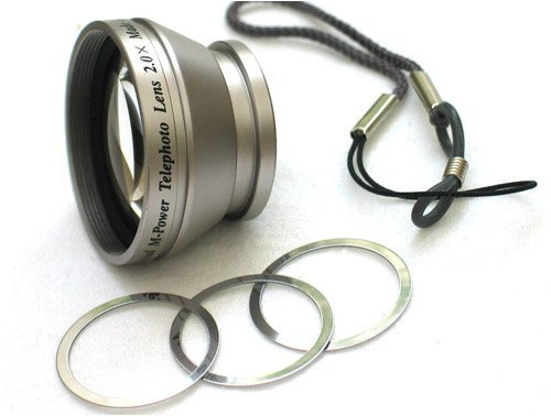 Bower M.Power small 2x magnetic tele photo lens