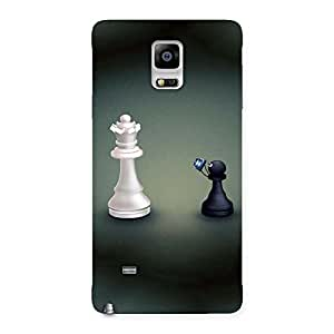 Pawn Click King Back Case Cover for Galaxy Note 4