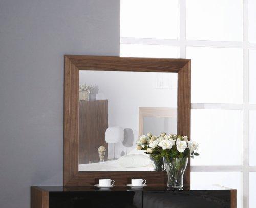 Bh Design Stark Mirror, Walnut front-856641