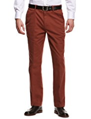 Cotton Rich Straight Leg Chinos