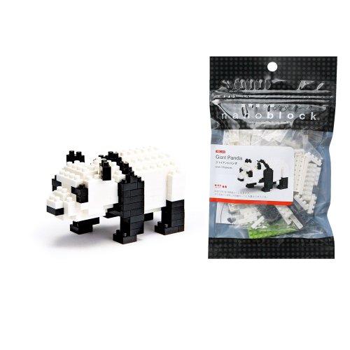 Kawada Nanoblock Collection Giant Panda Building Kit