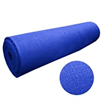"Hot Sale 46"" Wide X 35 Yard Long Royal Blue Burlap Roll"