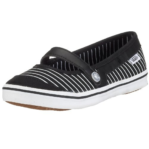 Vans Loni, Women's Pumps - Black/White, 34.5