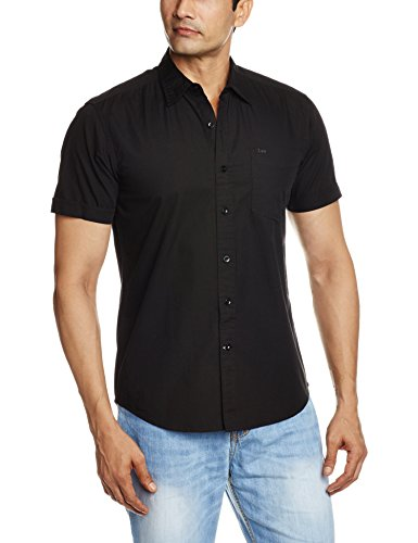 Lee-Mens-Casual-Shirt-8907222432997LESH9228X-LargeBlack