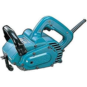 Makita 9741 Wheel Sander - 7.8 Amp, 3500 RPM, 4 3/4in. x 4in. Wheel Size