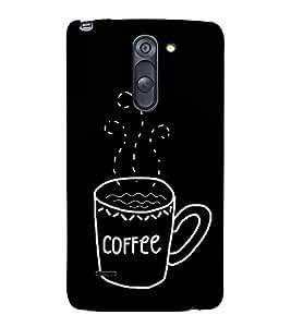 Coffee Clipart 3D Hard Polycarbonate Designer Back Case Cover for LG G3 Stylus :: LG G3 Stylus D690N :: LG G3 Stylus D690