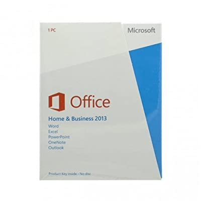 MICROSOFT #T5D-01575 Office Home and Business 2013 3264-bit English (No Media 1 License)