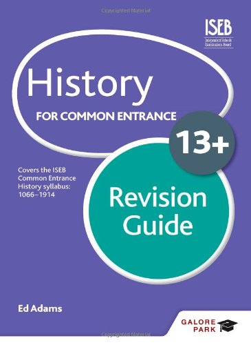 History For Common Entrance 13+ Revision Guide front-894316