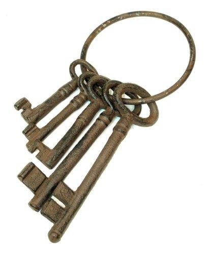 IWGAC 0184S-0075 Cast Iron Jailer Keys IWGAC