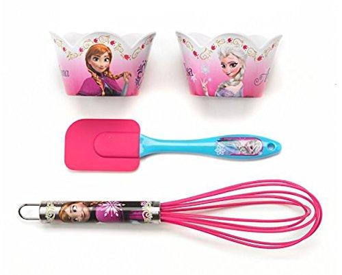 Disney Frozen 4-pc. Cupcake Baking & Serving Set