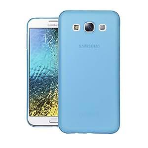 Galaxy E5 Back cover, Neo Hybrid Slim Series Case LEAF Case Back Cover for Samsung Galaxy E5 (Blue)