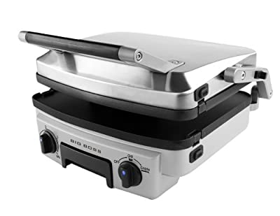 Big Boss Stainless Steel Reversible Grill, 1500-Watt from E.Mishan & Sons, Inc.