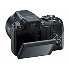 "Nikon COOLPIX P90 Digitalkamera (12 Megapixel, 24-fach optischer Zoom, 3"" Display) schwarz"