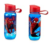Disney Store Spider-man Kid's 12oz Water Bottle (only one bottle)