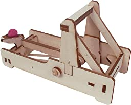 Pitsco Laser-Cut Basswood Catapult Kit (Individual Pack)