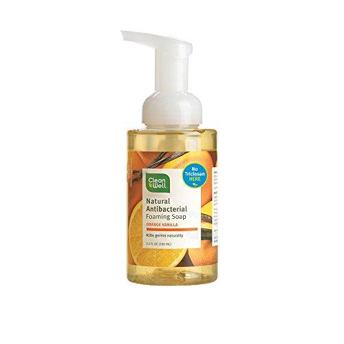 Antibacterial Foaming Soap Orange Vanilla, 9.5 Fl. OZ, Pack of 4 (Natural Antibacterial Soap compare prices)