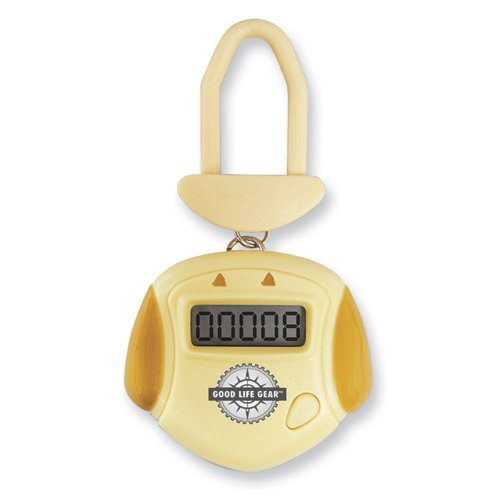 Cheap Yellow Pet Pedometer (GM6346)
