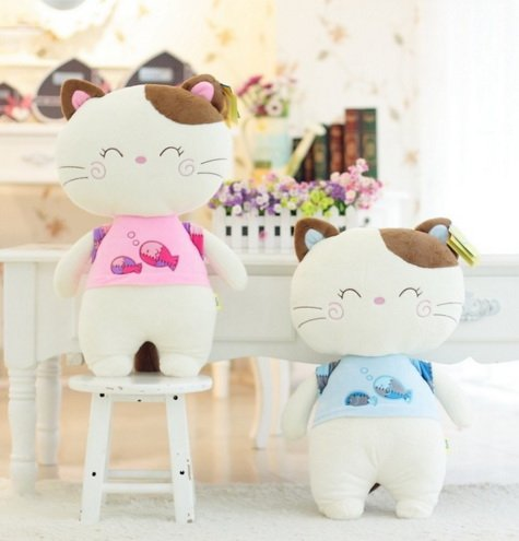 30cm Cat Dolls for children Lovely Baby Toys (Color Randomly)