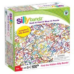Silly Bands Puzzle - White: 100 pc - 1