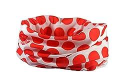 POLKADOT RUFFNEK® Multifunctional scarf/neckwarmer for men, women & children - Cycling mask,head band,hat,running,horse riding,fashion by RUFFNEK®
