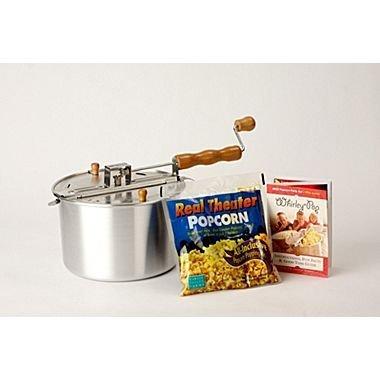 Whirley Pop Stovetop 6 Quart Popcorn Popper Color: Silver