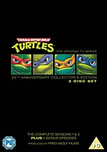 Teenage Mutant Ninja Turtles - Complete Seasons 1-2 (25th Anniversary Special Edition)  [DVD]