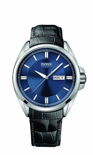 Men's Black Hugo Boss Driver Day/ Date Watch 1512877