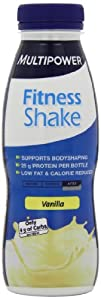 Multipower Fitness Shake RTD 12 x 330ml Vanilla