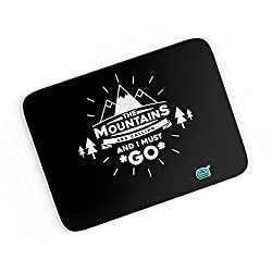 PosterGuy A4 Mouse Pad - The Mountains Are Calling And I Must Go | Designed by: Being Indian