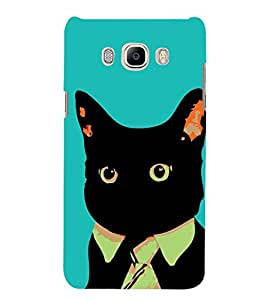 Funny Cat 3D Hard Polycarbonate Designer Back Case Cover for Samsung Galaxy J5 2016 :: Samsung Galaxy J5 2016 J510F :: Samsung Galaxy J5 2016 J510FN J510G J510Y J510M :: Samsung Galaxy J5 Duos 2016
