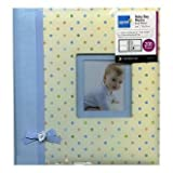 Kenro baby boy blue ribbon design traditional photo album with 50 sheets / 100 pages