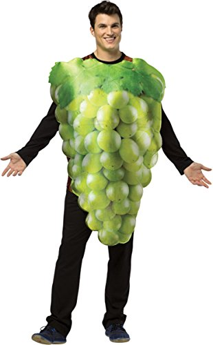 Morris Costumes Get Real Bunch Of Green Grape Costume