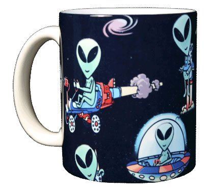 Alien 11 oz. Coffee Mug