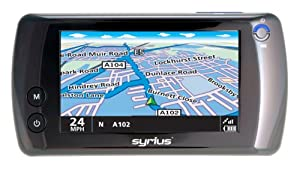"Snooper Syrius Euro Plus 4"" Sat Nav with UK and Western Europe Maps"
