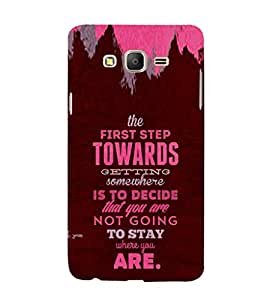 ifasho Designer Phone Back Case Cover Samsung Galaxy On7 Pro :: Samsung Galaxy On 7 Pro (2015) ( Society People Busy Life )