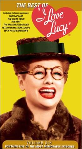 I Love Lucy 6: Best of [VHS] [Import]