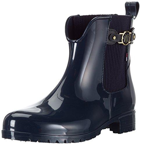 Tommy Hilfiger Damen O1285XLEY 9R Chelsea Boots, Blau (Midnight 403), 38 EU thumbnail