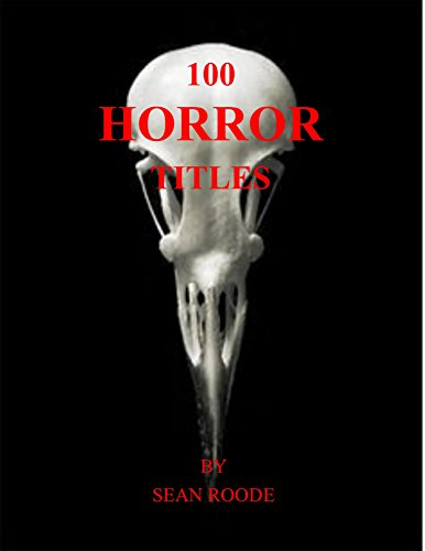 100 Horror Titles (English Edition)