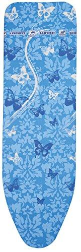 Leifheit 72264Air Board Thermo Reflect VS Housse pour Table à Repasser, plastique bleu Butterflies universel 140x 45x 1cm
