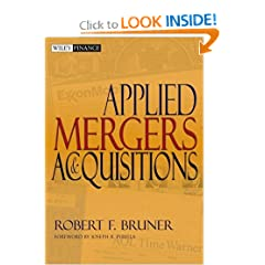 Applied Mergers and Acquisitions (Wiley Finance) (9780471395058)