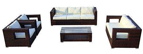 Baidani-Gartenmbel-Sets-10c0000300002-Designer-Lounge-Garnitur-Seaside-3-er-Sofa-2-er-Sofa-2-Sessel-Sitzauflagen-1-Couch-Tisch-mit-Glasplatte-braun