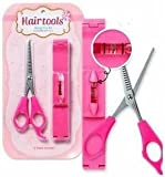 Hair Cutting Scissors, Worry Free Goodie, , Hair Thinning Scissors, Hair Thinning Shears,Hair Cutting Thinning Shears +Bangs Haircut Toolkit