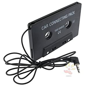 Everydaysource Black car Cassette adapter, Universal