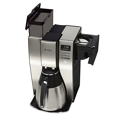 Thermal Coffee Maker Mr Coffee : Mr. Coffee 10 Cup Optimal Brew Thermal Coffee Maker, Stainless Steel, PSTX95 - Coffee Pigs